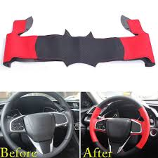 For Honda Civic 2016 2017 Steering Wheel Cover Wrap Trim DIY Black ... Detroit Diesel Part Ddea9062032402 Line Ebay For 0814 Subaru Impreza Wrx Sti Hatch Rear Spoiler Wagon Body Kit Great Deals From Warehouse Salvage In Rvcreationalvehicleparts Motors Security Center Ebay 78 Chevy Truck Parts Best Resource Car Accsories 1941 Intertional Kb5 Rat Rod Or Read The Smart Way Selling And Buying Cars Trucks Rudys Performance Stores Vintage Toyota Tundra Windshield Decal