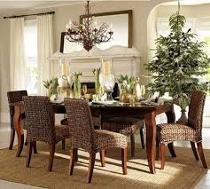 Plain Design Dining Room Table Vases Gloss Wooden Combined Chairs Small