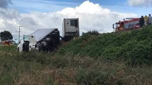 State Highway 1 Reopens After Truck Crash Causes Chaos South Of ...