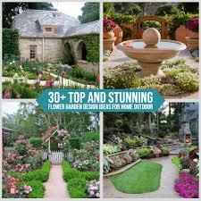 30 Top And Stunning Flower Garden Design Ideas For Home