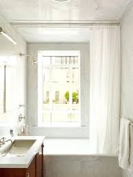 shower curtains ceiling track curtain inspirations mounted curved