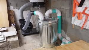Dust Collector Floor Sweep by Piping In My Hf Dust Collector