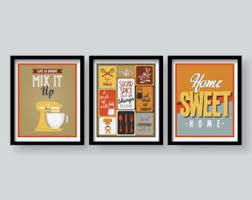 Kitchen Wall Art Prints Print