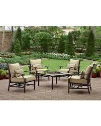 Patio Furniture Conversation Sets With Fire Pit by Spectacular Deal On Better Homes And Gardens Shutter 5 Piece