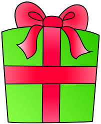 Birthday present clip art free clipart images 2