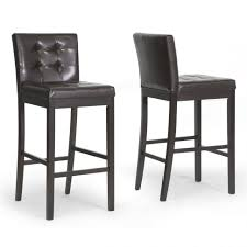 bar stools tufted leather bar stool stools ikea henriksdal with