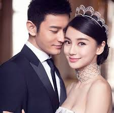 Angelababy And Actor Huang Xiaoming Posed Before Their Big Day For Chaumet