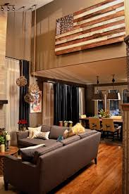 Brown Living Room Decorating Ideas by How To Decorate High Ceilings Ceilings Flags And Foxes