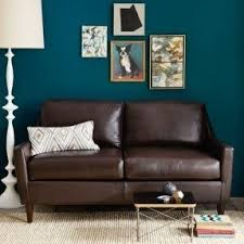 West Elm Everett Chair Leather by Leather Sofa Loveseat And Chair Foter