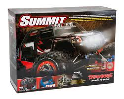 100 Summit Rc Truck Traxxas RTR 4WD Monster Green TRA560764GRN Cars