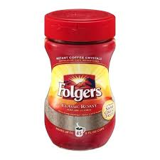 Folgers Coffee Ingredients Instant Classic Roast