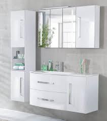 fackelmann badmöbel lugano weiß set c links 115 cm