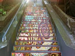 16th Avenue Tiled Steps Address by Hidden Garden Steps Now Open In Golden Gate Heights Curbed Sf