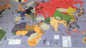 This Is A Massive 5 Ft X 3 1 2 Axis And Allies Custom Board Game Was Created Put Together By Historicalboardgaming Enthusiasts