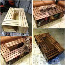Wood Crate Projects Best Table Ideas On Coffee 4