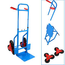 Amazon.com: Stair Climbing Cart, 200Kg Stair Climber Hand Truck ...