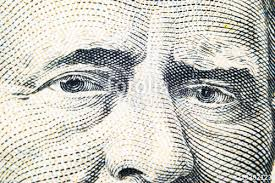 Close Up View Portrait Of Ulysses S Grant On The One Fifty Dollar Bill