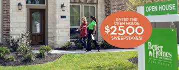 Better Homes and Gardens Real Estate National Open House Month