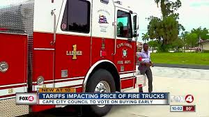 100 Fire Rescue Trucks Cape FD Looking To Purchase New Fire Truck Ahead Of Tariff Price Hikes