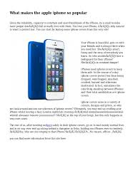 what makes the apple iphone so popular 1 638 cb=