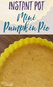 Bake Pumpkin For Pies by Delicious Instant Mini Pumpkin Pie Awe Filled Homemaker