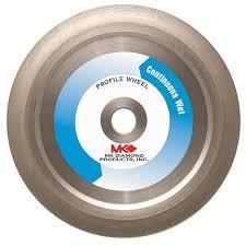 Diamond Bullnose Tile Blade by Mk Diamond 155853 Mk 275g 6 Inch Diameter 3 8 Inch Radius Profile