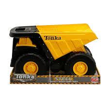 Tonka Toughest Mighty Dump Truck - Classic Steel - Toys