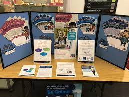 Be Online 2017 Display At Cheltenham Library