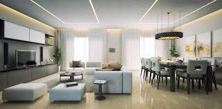 beleuchtung im wohnzimmer modern 30 ideen mit led licht