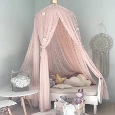 7 farben kinder bettwäsche dome bett baldachin baby bett vorhang mesh zelt schlafzimmer wand hängen moskito net bettdecke wohnkultur