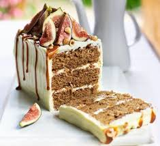 This Sophisticated Cake Is Gently Spiced And Full Of Treacly Flavours From Dried Figs Muscovado