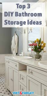Ask Wet & Forget 3 Inventive DIY Bathroom Storage Ideas For Small ... Elegant Storage For Small Bathroom Spaces About Home Decor Ideas Diy Towel Storage Fniture Clever Bathroom Ideas Victoriaplumcom 16 Epic Master Cabinet Aricherlife Tower Little Pink Designs 18 Genius 43 Minimalist Organization Deocom Rustic 17 Brilliant Over The Toilet Easy Hack Wartakunet
