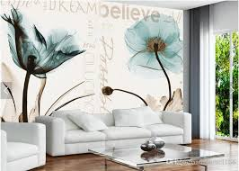 großhandel 3d tapeten blumen für wohnzimmer tv hintergrund wand dekor blumentapete fototapete papier im benutzerdefinierten format fumei168 14 2