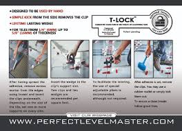 Leveling Spacers For Tile by Ptx Group Inc Tile Leveling