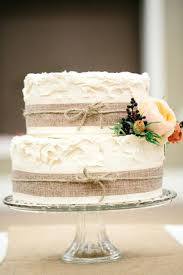Cakes Decorated With Burlap 20 Rustic Wedding For Fall 2015 Http Wwwtulleandchantilly Vintage