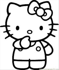 Kitty25 Coloring Page Download
