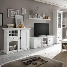 wohnzimmer wohnwand im landhaus stil wingst 61 pinie weiß nb inkl led b h t ca 340x207x45cm