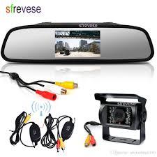 100 Best Backup Camera For Trucks 43 Vehicle LCD Mirror Monitor Wireless Waterproof 18 IR CCD