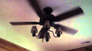 52 hunter ceiling fan at a friend s lodge youtube