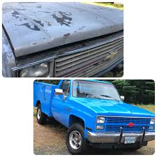 Waved The Magic Wand. Old Ford Blue Paint Job   Some Of My Custom ... 1995 F150 4x4 Totally Bed Liner Paint Job 4 Lift Custom Lighting How To Video Paint Your Truck Bed Youtube On A Diy Liner Dc Shoes Sticker Stop Good A Rustoleum Job My Recumbent Rources In Sprayon Pickup Bedliners From Linex Rhino Spray Inspirational And Body Protection Coatings Jeep Rebel Dennis Panzik Artistry Turns Out Coating Chevy Colorado With Is Pretty Sweet Restorer Car Exterior Correction
