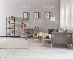 grauen raum arbeitszimmer und wohnzimmer tyle stockfoto und mehr bilder akademisches lernen