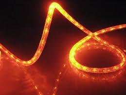 Amazon 10Ft Rope Lights Orange Deep Amber LED Rope Light