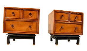 American Of Martinsville Dining Room Set by American Of Martinsville Asian Style Nightstands A Pair Chairish