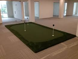 Putting Green and Bball Court New fice