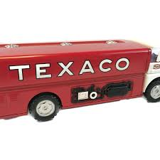 Vintage 1960's Wen-Mac Texaco Tanker Truck – Long Beach Antique Mall Amazoncom Ertl 9385 1925 Kenworth Stake Truck Toys Games Texaco Cast Metal Red Tanker Truck By Ertl For Sale Antiquescom Vintage Toy Fuel Tractor Trailer 1854430236 Beyond The Infinity 1940 Ford Pickup With Lot Detail Two 2 Trucks Colctible Set Schrader Oil Vintage Buddy L Gas Pressed Steel Antique Tootsietoy 1915440621 Sold Diamond T 522 Livery Rhd Auctions 26 Andys Toybox Store 273350286110 1990 Edition 7 Stake Coin Bank Collectors Series 9 1961 Buddy