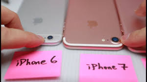 iPhone 7 vs iPhone 6 vs iPhone 6s Plus Brightness & Thickness