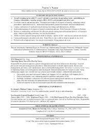Resume Nurses Sample Registered Nurse Student Nursing Best Ideas