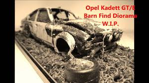 Opel Kadett GT/E Rally Crash Barn Find Diorama - Bburago Base 1/24 ... A Civic Type R Barn Find Scene Diorama Ebay Dioramas 1969 Chevrolet Chevy Camaro Z28 Weathered Barn Find Muscle Car European Corrugated Iron Roofin 135 Scale Basic Build Part 124 Chevrolet Bel Air 1957 Code 3 Andrew Green Miniature Diorama Garage With Ford Thunderbird Convertible Westboro Speedway Model Diorama Race Car 164 Carport For Sale On Ebay Sold Youtube 1970 Oldsmobile 442 W 30 Weathered Project Car Barn Find 118 Bunch O Great Old Cars Mopar Pinterest Cars And Plastic Model Kit Weathering By Barlas Pehlivan American Retro Garage Scale