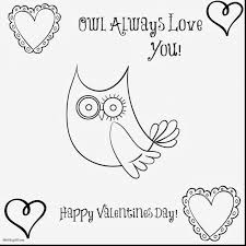 Fantastic Owl Always Love You Coloring Pages With I And
