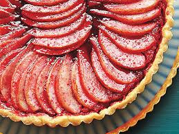 Apple Pear And Cranberry Tart